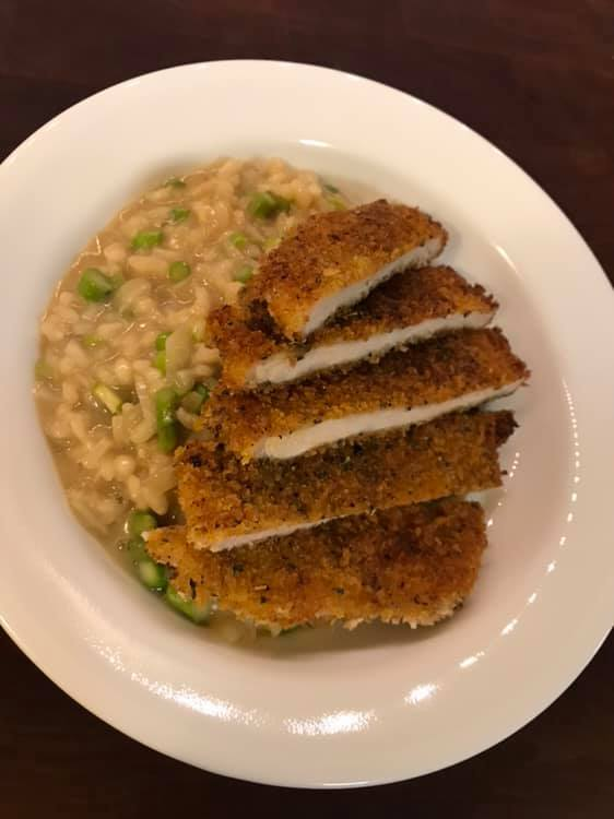 Breaded Pork Loin with Asparagus Risotto.jpg