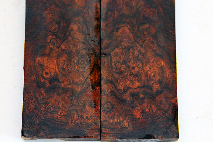 cocobolo burl and rosewood burl knife scales 170.JPG