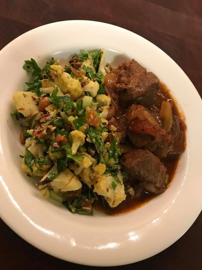 Moroccan Beef Stew with Roasted Cauliflower and Herb Salad.jpg